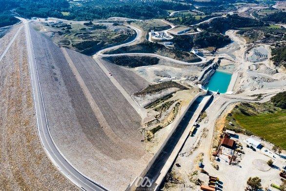 Αεροφωτογραφίες από το Φράγμα του Πείρου - Παραπείρου!