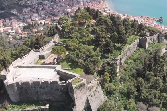 Το Κάστρο της Ναυπάκτου από ψηλά (video)