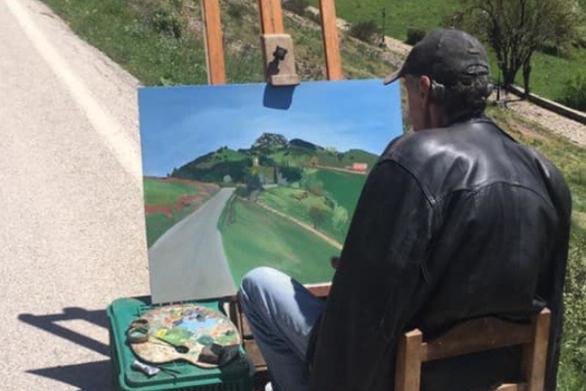 """Ο """"άγνωστος"""" ζωγράφος των Καλαβρύτων και η αξία του καλλιτέχνη!"""