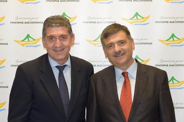 Ο Δημήτριος Λυμπερόπουλος υποψήφιος με τον Γρηγόρη Αλεξόπουλο