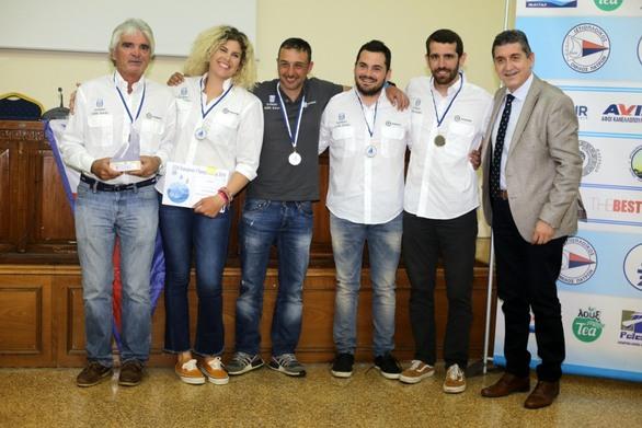 Παρών στην τελετή λήξης του Πανευρωπαϊκού πρωταθλήματος J/24 της Πάτρας, ο Γρηγόρης Αλεξόπουλος!