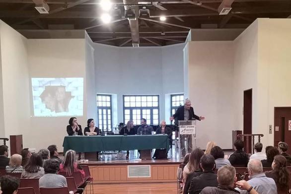Ο Άγγελος Τσιγκρής μίλησε στο Αίγιο, σε εκδήλωση των συλλόγων γονέων και κηδεμόνων (φωτο)