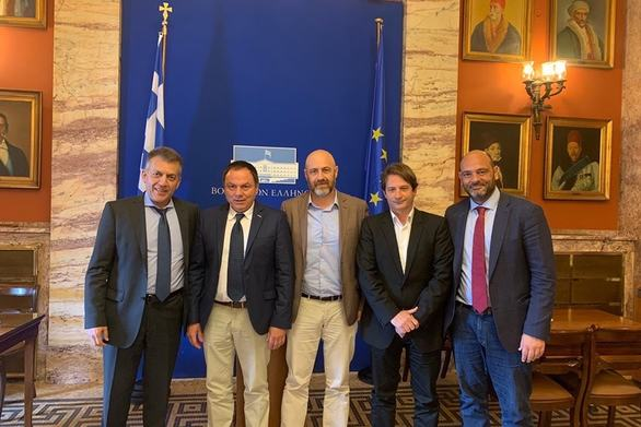 Πάτρα: To προεδρείο του ΣΚΕΑΝΑ συναντήθηκε με τους βουλευτές Φωτήλα και Βρούτση