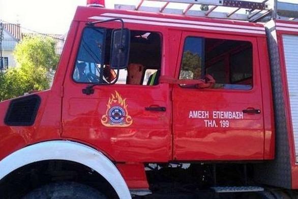 Πάτρα: Φωτιά σε σπίτι στην Οβρυά