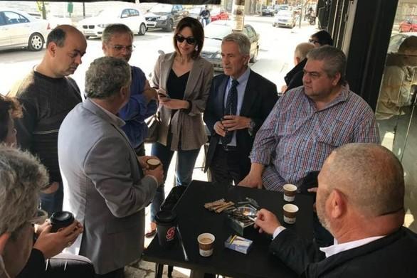Στην Ανδραβίδα ο Κ. Σπηλιόπουλος μετά τις σεισμικές δονήσεις