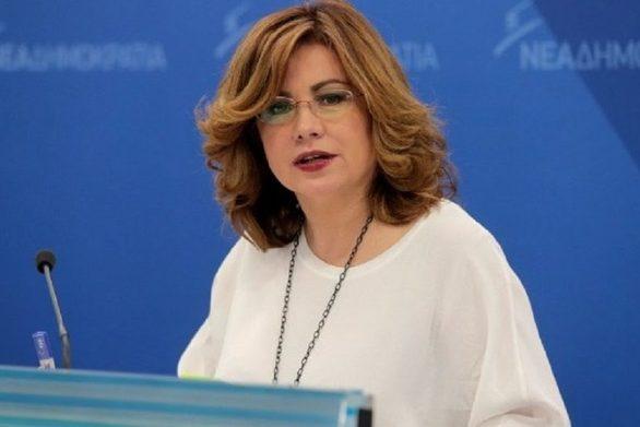 Στην Πάτρα η υποψήφια Ευρωβουλευτής της ΝΔ Μαρία Σπυράκη