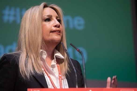 Η Φώφη Γεννηματά στην Πάτρα - Δείτε LIVE την ομιλία της