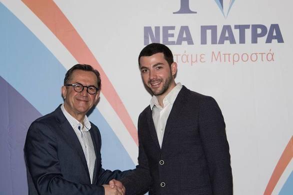 Ο Φοίβος Σαμούτ - Μπατίστας υποψήφιος με τον Νίκο Νικολόπουλο