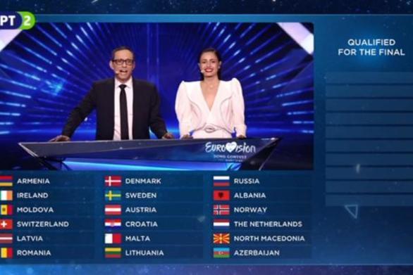 Eurovision 2019: Οι δέκα χώρες που πέρασαν από τον δεύτερο ημιτελικό!