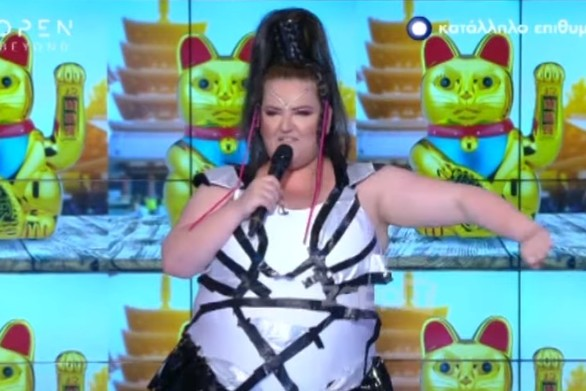 Ο Νίκος Μουτσινάς έφερε την... Eurovision στην εκπομπή του (video)
