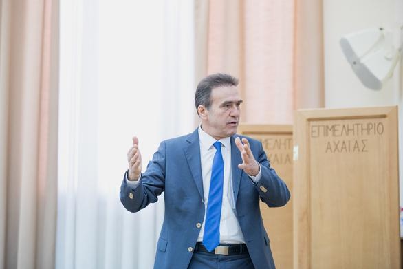 """Γιώργος Κουτρουμάνης: """"Ψηφίζουμε ΝΔ για να αλλάξουμε την Ελλάδα σε μια ισχυρή Ευρώπη"""""""