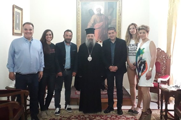 Την ευλογία του σεβασμιώτατου Μητροπολίτη Χρυστοστόμου, έλαβε ο Γρηγόρης Αλεξόπουλος