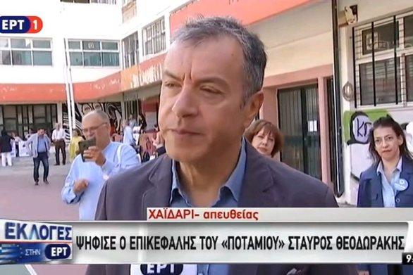 """Σταύρος Θεοδωράκης: """"Για να ξαναγεννηθούμε ένα σπερματοζωάριο δεν δείλιασε"""" (video)"""