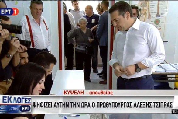 """Αλέξης Τσίπρας: """"Είναι η μέρα ευθύνης των πολλών για το σήμερα και το αύριο του τόπου"""" (video)"""