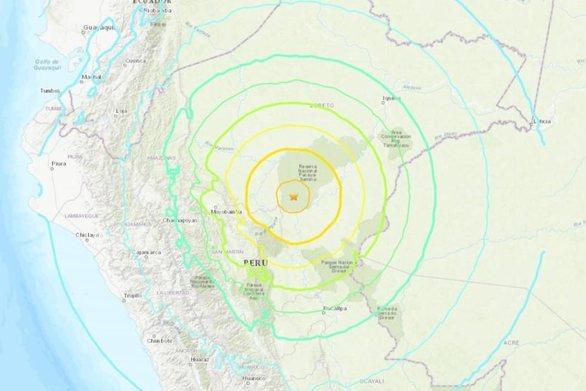 Σεισμός 8 Ρίχτερ συγκλόνισε το Περού