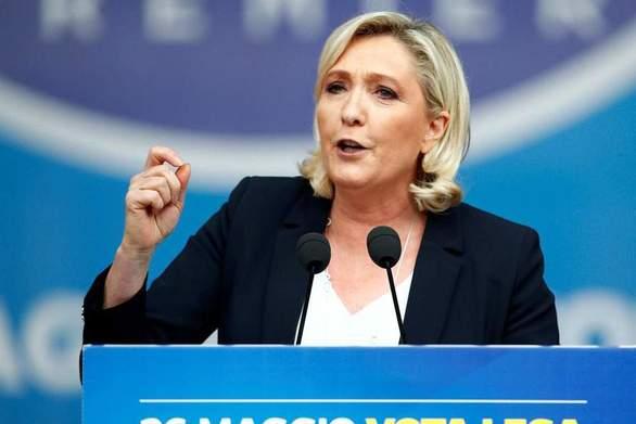 Γαλλία - Η ακροδεξιά της Λεπέν επικρατεί με 0,9% του Μακρόν