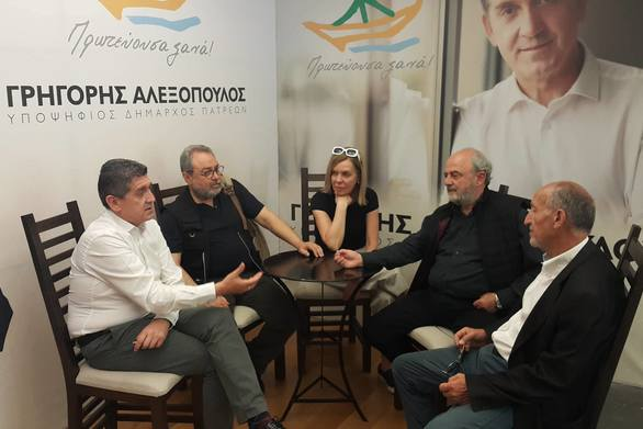 Γρ. Αλεξόπουλος: Συζήτηση για την συσπείρωση δυνάμεων ενόψει της μάχης του 2ου γύρου στο Δήμο Πατρέων