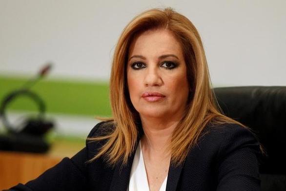 """Φώφη Γεννηματά: """"Λυπάμαι για την απόφαση του Βενιζέλου"""""""
