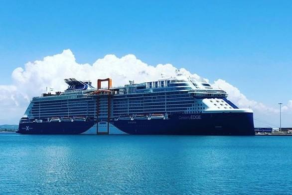 Κατέπλευσε στο λιμάνι του Κατακόλου, το πιο σύγχρονο κρουαζιερόπλοιο του κόσμου! (φωτο+video)