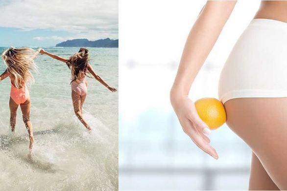 5 τρόποι για να εξαφανίσετε την κυτταρίτιδα πριν βγείτε στην παραλία