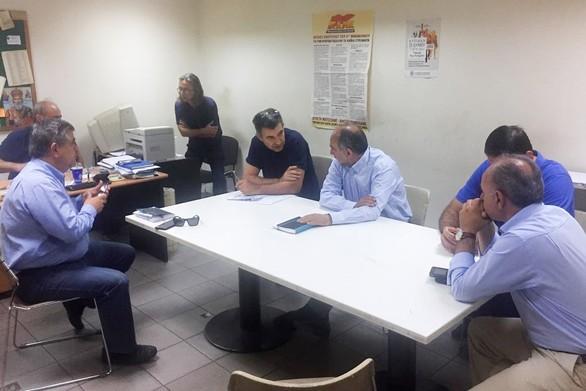 Δυτική Ελλάδα: Στο εργοστάσιο της Frigoglass ο Απόστολος Κατσιφάρας