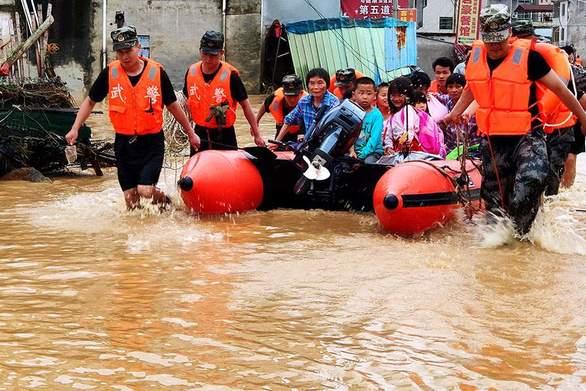 Κίνα - 19 νεκροί από τις πλημμύρες