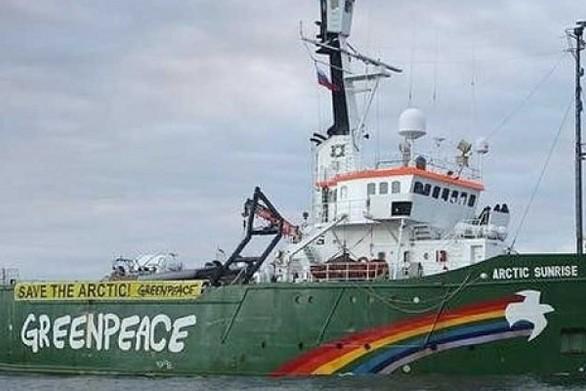 Το πλοίο της Greenpeace στην Πάτρα!