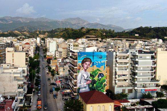 """""""Μεσόγειος"""": Ένα αλληγορικό - οικουμενικό έργο τέχνης στην Πάτρα, γεμάτο συμβολισμούς και μηνύματα!"""