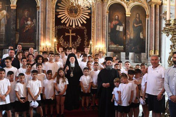 """Οικουμενικός Πατριάρχης: """"Να συμβάλλουμε στην δημιουργική συνεργασία ανθρώπων και λαών"""" (φωτο)"""
