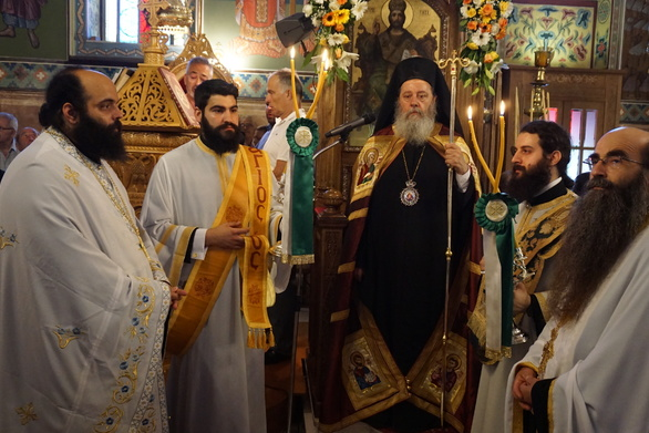 Λαμπρός εορτασμός της Ενορίας του Ιερού Ναού Αγίας Τριάδος Πατρών (φωτο)