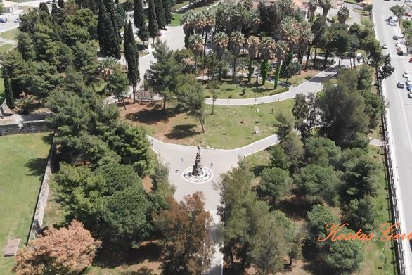 Ο Κήπος των Ηρώων στο Μεσολόγγι μέσα από τα «μάτια» ενός drone! (φωτο+video)