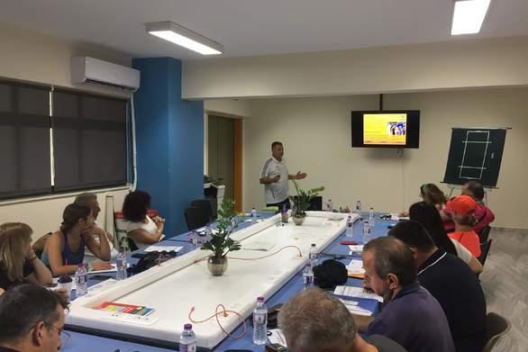 Πάτρα: Διεξήχθη σεμινάριο διαιτητών - κριτών - γραμματείας beach handball