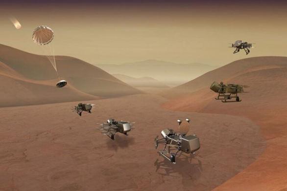 Η NASA θα ψάξει για ζωή στον Τιτάνα (video)