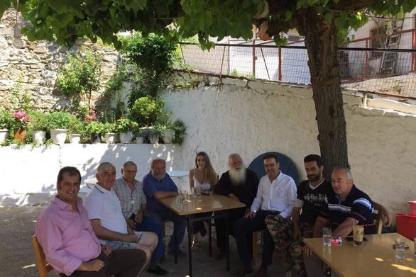 Περιοδεία του Γιώργου Κουτρουμάνη σε χωριά των Καλαβρύτων