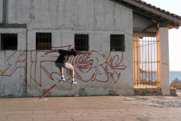 """Tα urban alternative sports στην Πάτρα είναι """"άστεγα"""""""