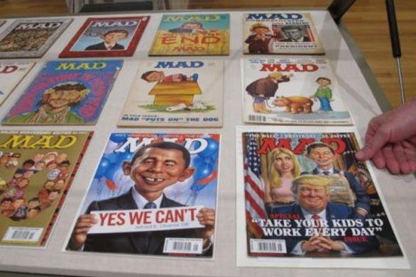 """""""Τίτλοι τέλους"""" για το ιστορικό περιοδικό MAD"""