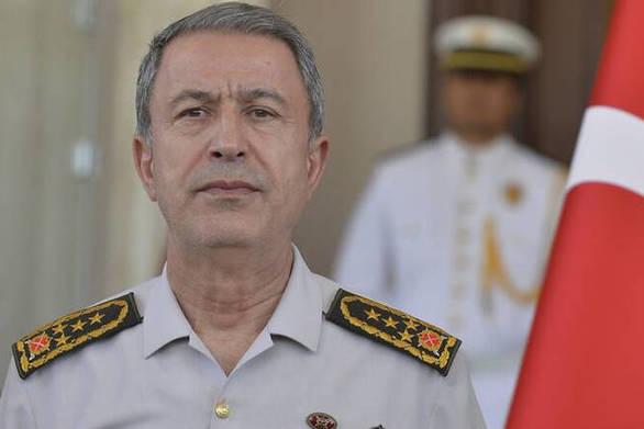 """Ακάρ: """"Η Τουρκία θα συνεχίσει τον αγώνα ενάντια στις απειλές σε Αιγαίο και ανατολική Μεσόγειο"""""""