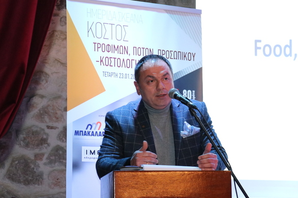 """Στεργίου στο patrasevents.gr: """"Ή εστίαση και ο σύλλογος έχουν κοινωνικό αποτύπωμα"""""""