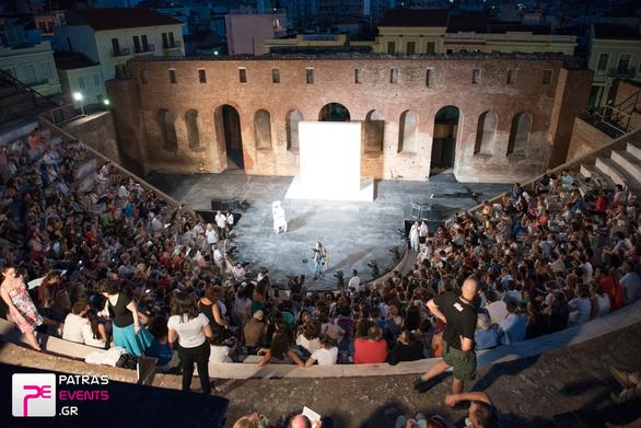 """Το νέο """"στάτους"""" στο Ρωμαϊκό Ωδείο της Πάτρας - Η ανάγκη ενός μεγάλου ανοικτού θεάτρου"""