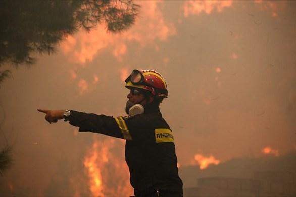 Υψηλός κίνδυνος για πυρκαγιά σήμερα στη Δυτική Ελλάδα