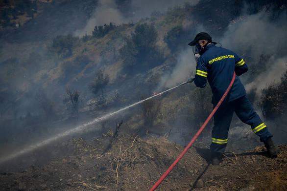 Yψηλός ο κίνδυνος πυρκαγιάς την Τετάρτη σε όλη τη Δυτική Ελλάδα