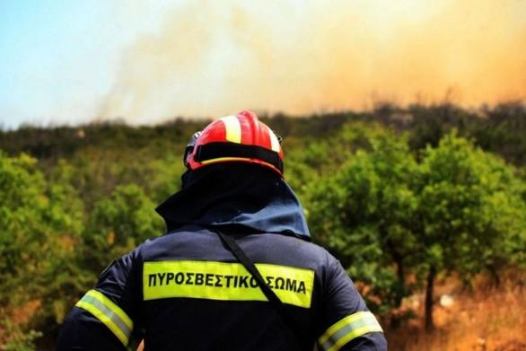 Yψηλός ο κίνδυνος πυρκαγιάς και σήμερα στη Δυτική Ελλάδα