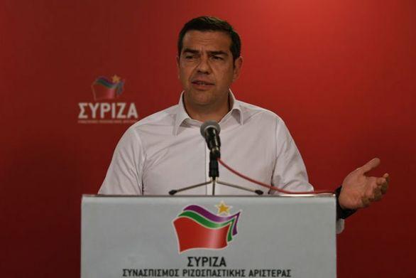 """Τσίπρας στην ΚΕ του ΣΥΡΙΖΑ: """"Θα κάνουμε ό,τι μπορούμε για τους πληγέντες στη Χαλκιδική"""""""