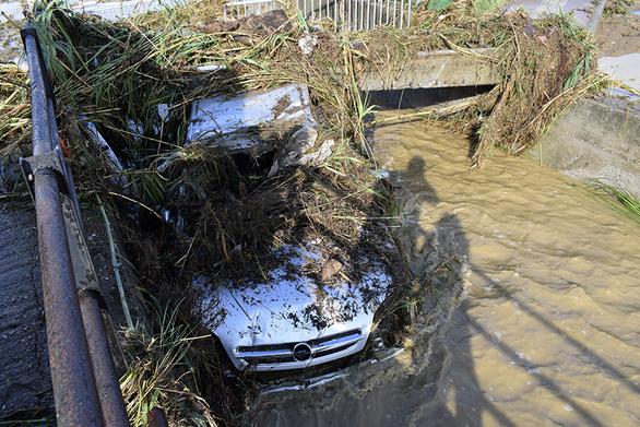 Ναύπακτος - Ξεκίνησε η καταγραφή των ζημιών από τη νεροποντή