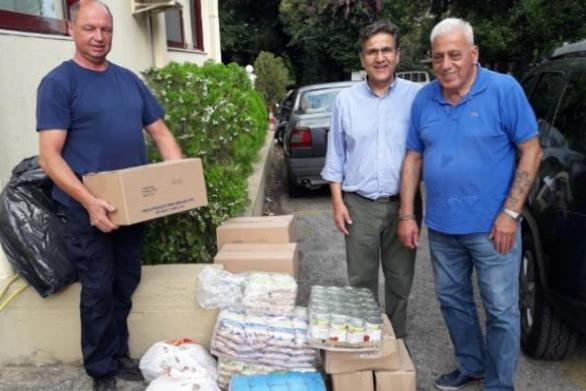 """Αίγιο: Προσφορά τροφίμων στο Αγάπης Μέλαθρον """"Ο Άγιος Χαράλαμπος"""""""