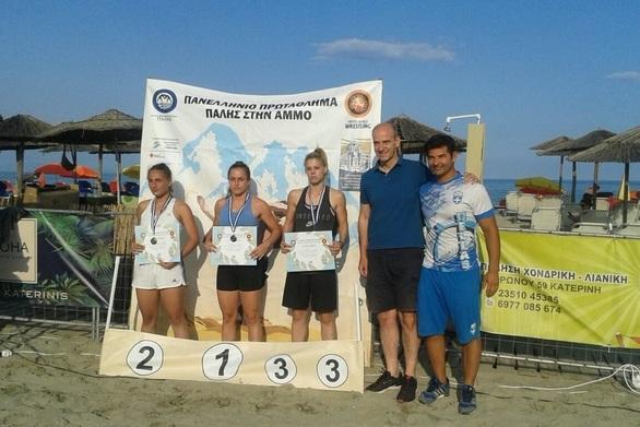 Πάτρα: Χάλκινο μετάλλιο στο Πανελλήνιο Πρωτάθλημα Πάλης στην Άμμο