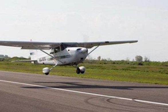 Γρεβενά: Αναγκαστική προσγείωση για μονοκινητήριο αεροσκάφος (video)