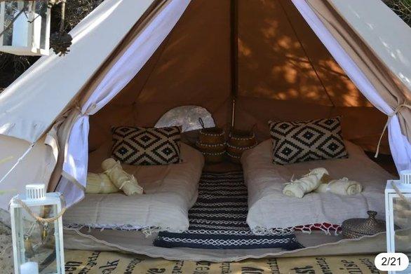 Νοικιάζουν μέσω Airbnb... σκηνές στη Γαύδο! (φωτο)
