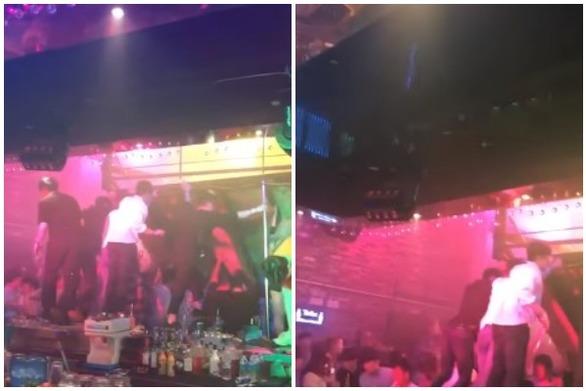 Τρόμος από κατάρρευση οροφής σε κλαμπ με αθλητές στη Νότια Κορέα (video)