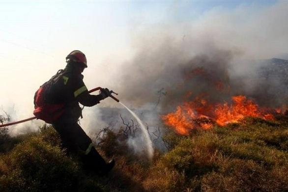 Yψηλός κίνδυνος πυρκαγιάς την Δευτέρασε Αχαΐα και Ηλεία